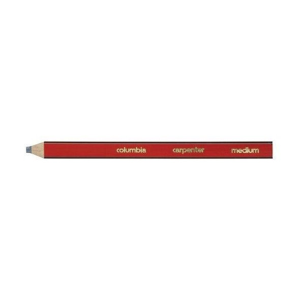 columbia Carpenter Lead Pencil Red Medium Box100 611400MED