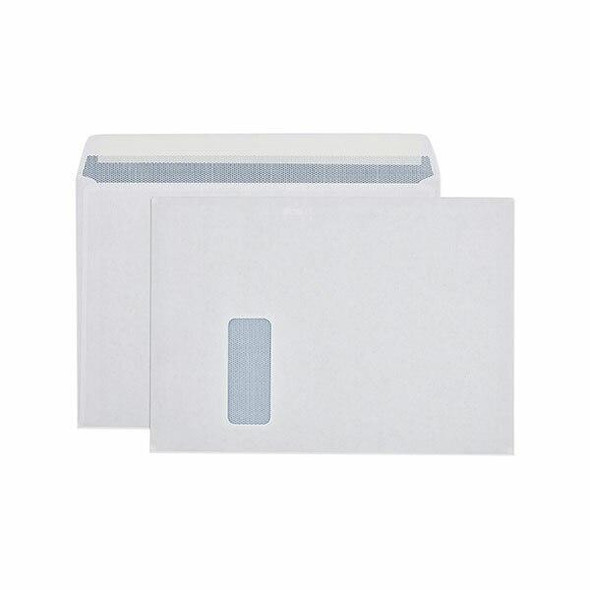 CUMBERLAND Booklet Mailer With Window 90gsm C4 229 X 324mm White 6123412