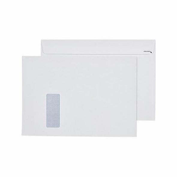 CUMBERLAND Strip Seal Secretive Booklet Mailer 100gsm C4 229 X 324mm White Box250 612347