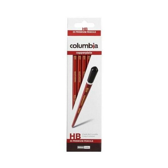 columbia Copperplate Lead Pencil Hexagonal HB Box20 61700HB