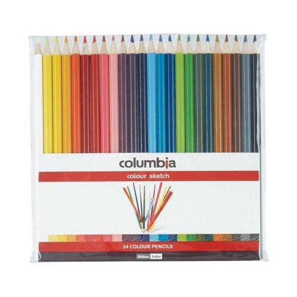 columbia Coloursketch Colour Pencil Round Wallet24 X CARTON of 10 620024WAL