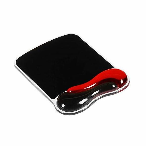 Kensington Gel Series Mouse Pad- Red/Black 62402