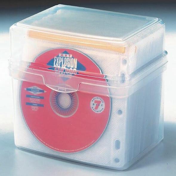 Kensington Cd/Dvd Sleeves Pack Of 50 X CARTON 4 62670