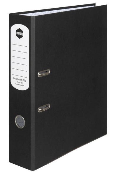 Marbig Lever Arch File A4 Black X CARTON of 10 63040P