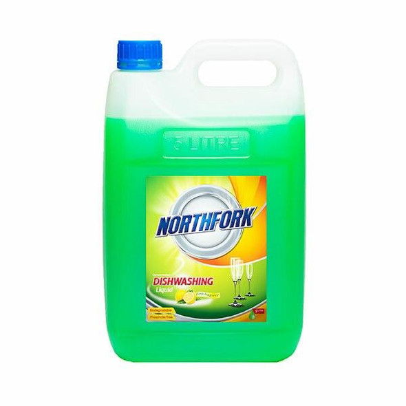 NORTHFORK Dishwashing Liquid 5 Litre X CARTON of 3 631010700