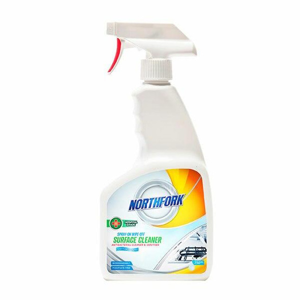 NORTHFORK Spray On Wipe Off Surface Clea 750ml X CARTON of 12 631070400