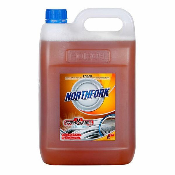 NORTHFORK Oven And Grill Cleaner 5 Litre X CARTON of 3 631080700