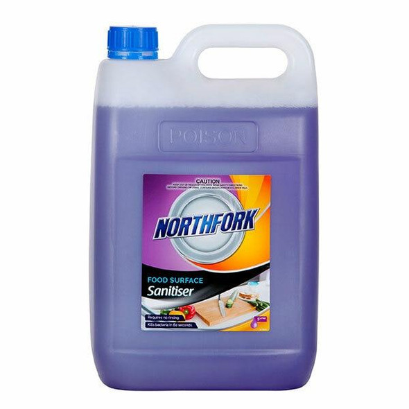 NORTHFORK Food Surface Sanitiser 5 Litre X CARTON of 3 631090700
