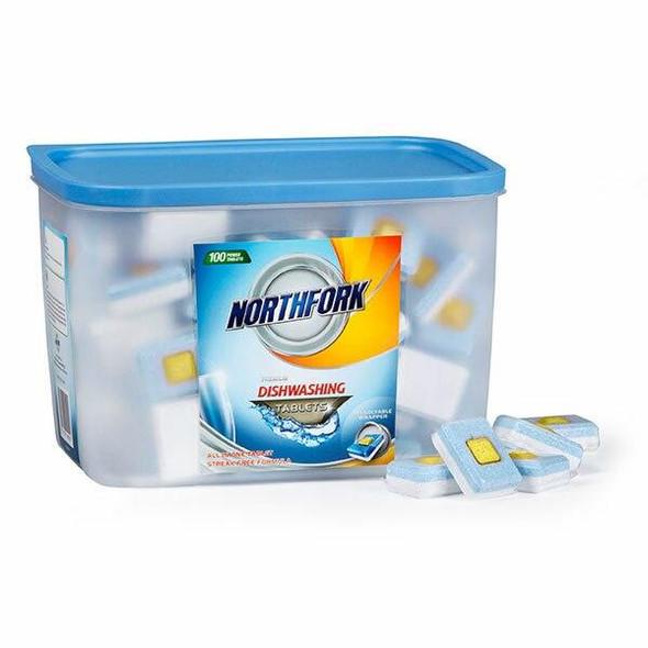 NORTHFORK Dishwashing Tablets Box100 X CARTON of 4 631193538