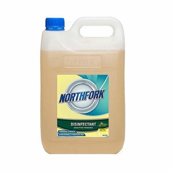 NORTHFORK Eucalyptus Disinfectant 5 Litre X CARTON of 3 632010704