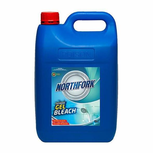 NORTHFORK Bathroom Gel Bleach 5 Litre X CARTON of 3 632030700