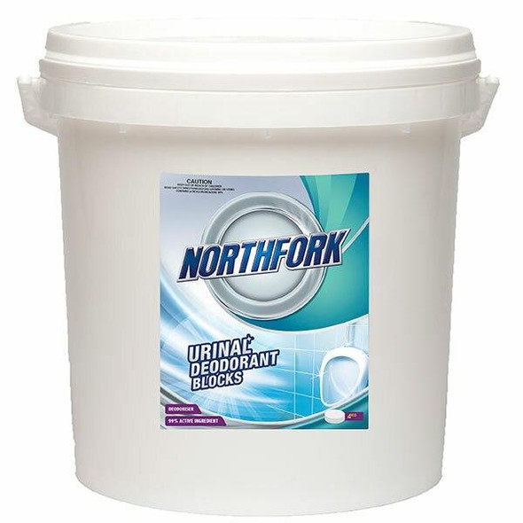NORTHFORK Urinal Deodorant Blocks 4kg X CARTON of 4 632041200