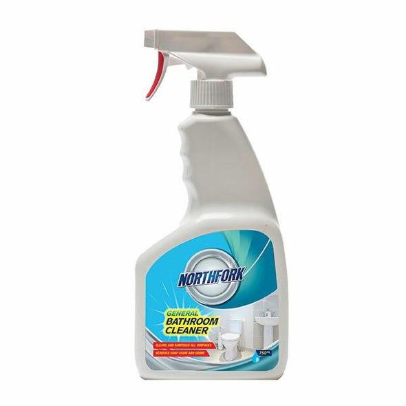 NORTHFORK General Bathroom Cleaner 750ml X CARTON of 12 632080400