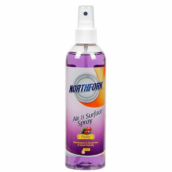NORTHFORK Air Freshener Disinfectant Fruity 250ml X CARTON of 12 633012910