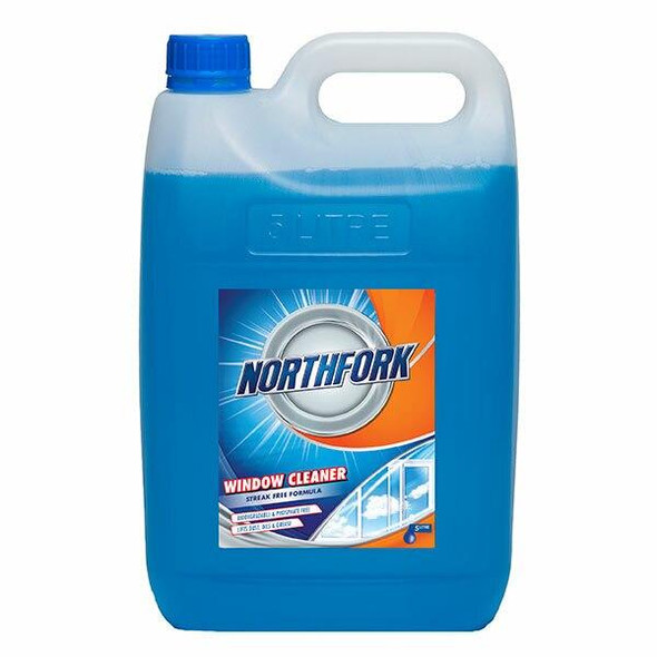 NORTHFORK Window And Glass Cleaner 5 Litre X CARTON of 3 634010700
