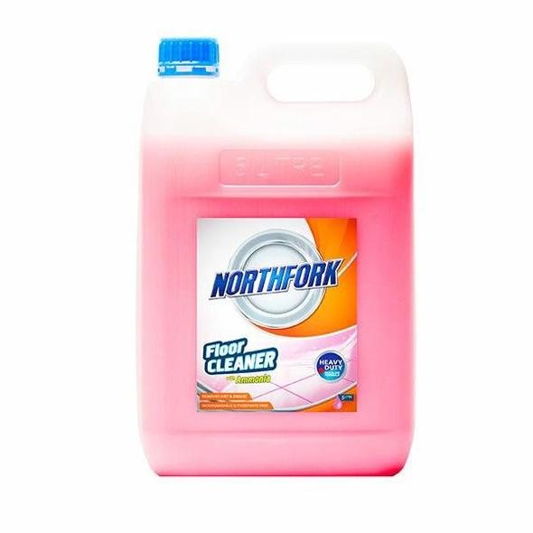 NORTHFORK Floor Cleaner With Ammonia 5 Litre X CARTON of 3 634030700