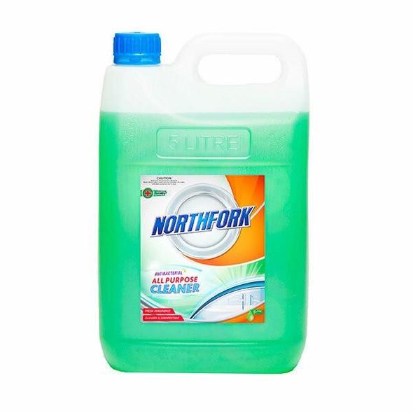 NORTHFORK All Purpose Cleaner Antibacterial 5 Litre X CARTON of 3 634040700
