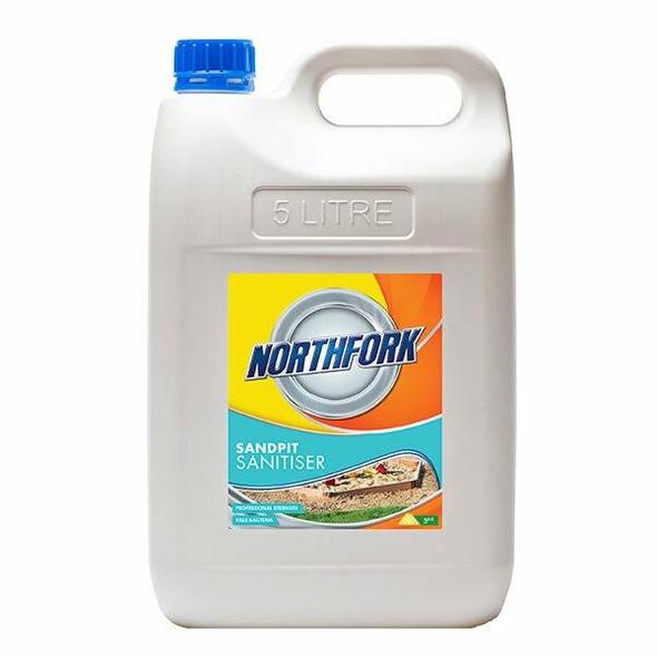 NORTHFORK Sandpit Sanitiser 5 Litre X CARTON of 3 634090700