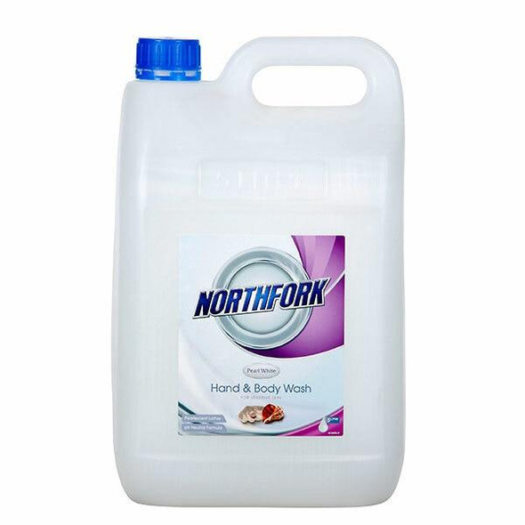 NORTHFORK Hand And Body Wash Pearl White 5 Litre X CARTON of 3 635030700