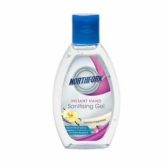 NORTHFORK Instant Hand Sanitising Gel 70ml X CARTON of 24 635090200