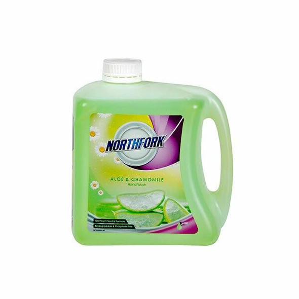 NORTHFORK Liquid Hand Wash Aloe and Chamomile 2 Litre X CARTON of 3 635163843