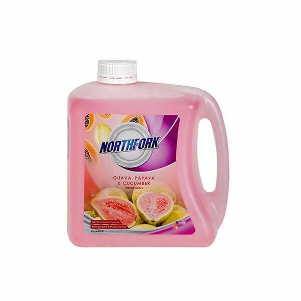 NORTHFORK Liquid Hand Wash Guava Pomegranate Cucum 2 Litre X CARTON of 3 635163844