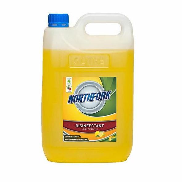 NORTHFORK Geca Lemon Sanitiser 5 Litre X CARTON of 3 638100701