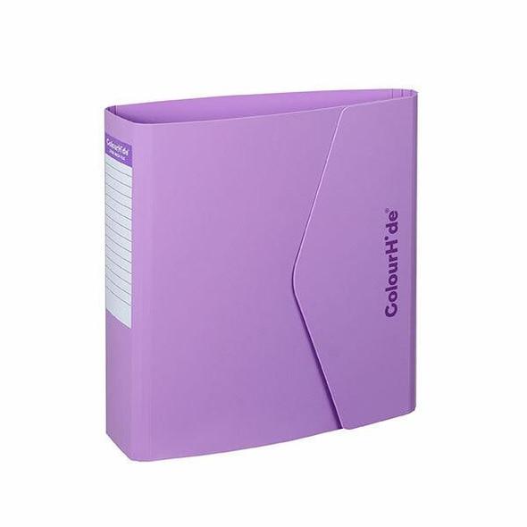 Colourhide Lever Arch File Pp A4 70mm Purple X CARTON of 12 6608019J