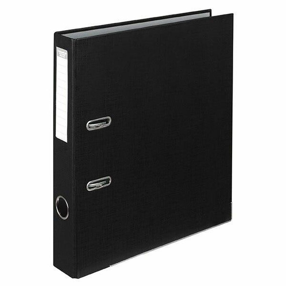 Colourhide Half Lever Arch File Pe A4 Black X CARTON of 15 6801002J