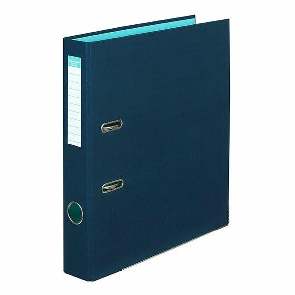 Colourhide Half Lever Arch File Pe A4 Navy X CARTON of 15 6801027J