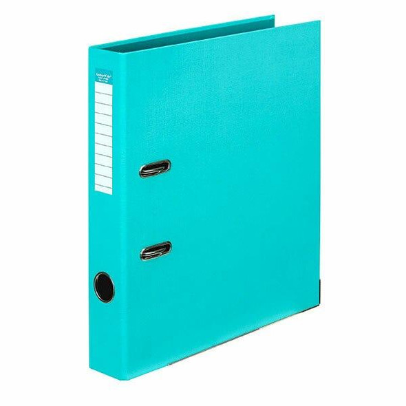 Colourhide Half Lever Arch File Pe A4 Aqua X CARTON of 15 6801032J