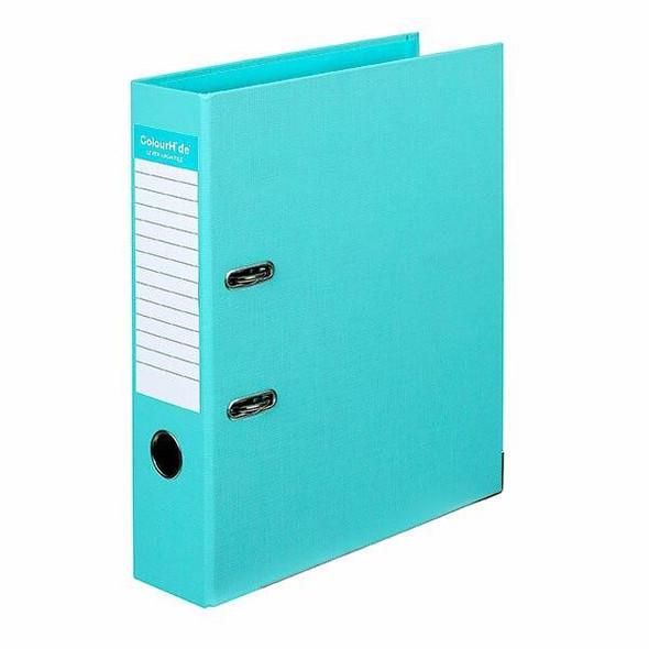 Colourhide Lever Arch File Pe A4 Aqua X CARTON of 6 6802032J