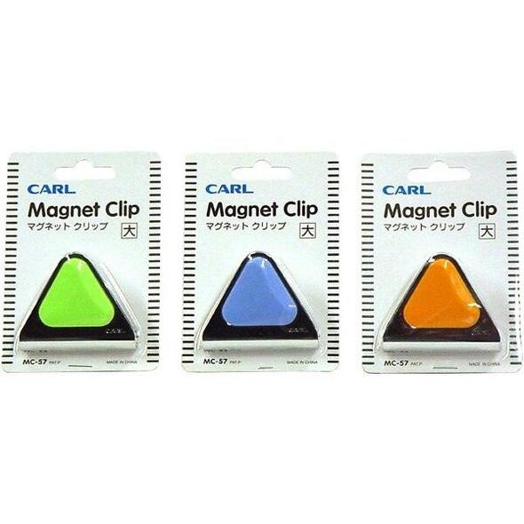 CARL Mc57 Magnetic Clip 60mm Blue 700575