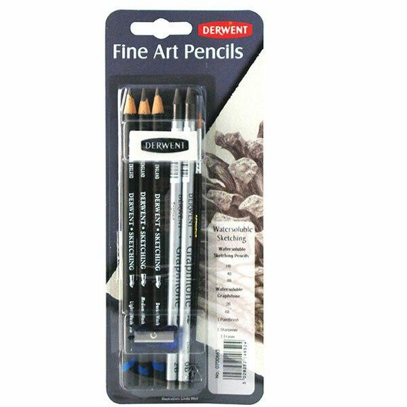 DERWENT Watersoluble Sketch Mixed Media Blister X CARTON of 6 700665