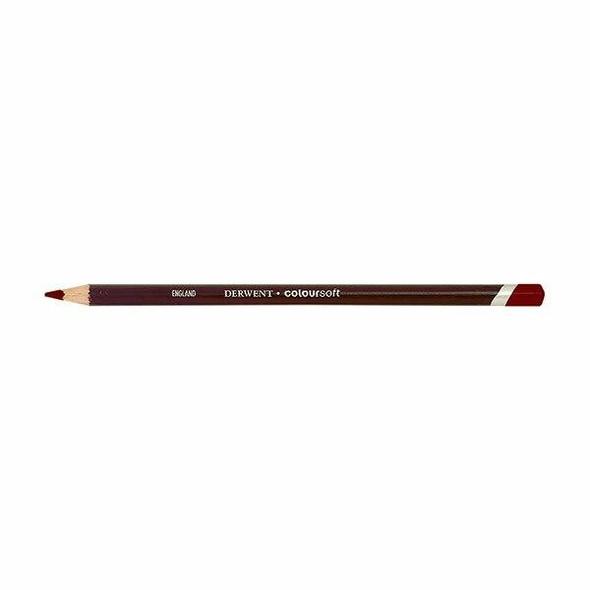 DERWENT Coloursoft Pencil Deep Red C130 X CARTON of 6 700965