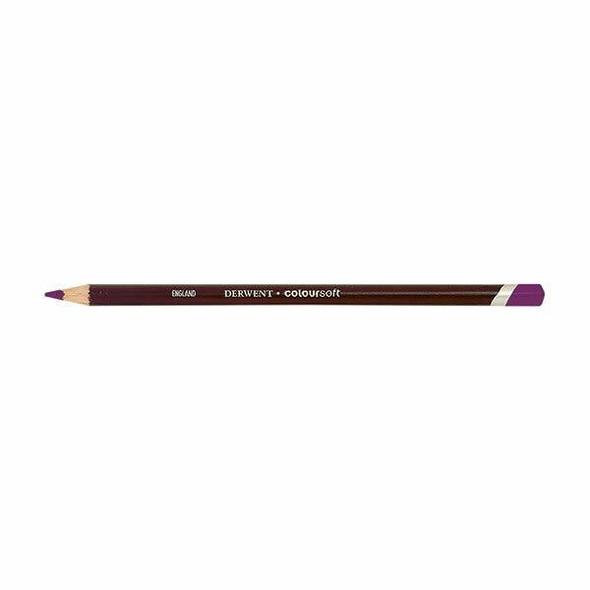 DERWENT Coloursoft Pencil Deep Fuchsia C140 X CARTON of 6 700966