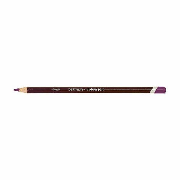 DERWENT Coloursoft Pencil Bright Purple C240 X CARTON of 6 700976