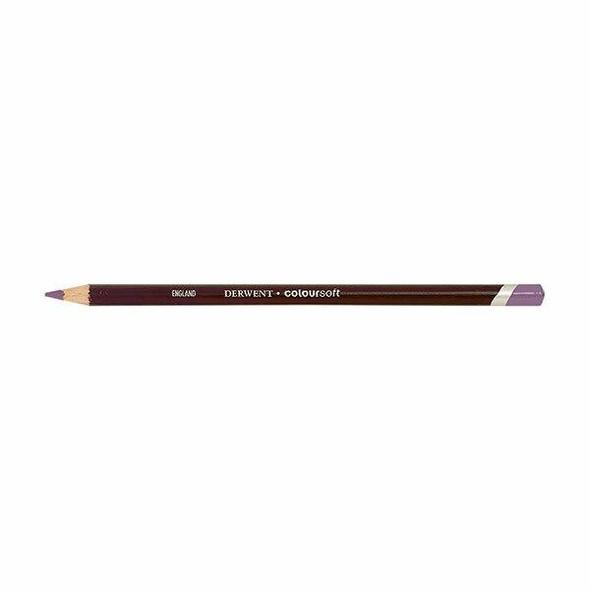 DERWENT Coloursoft Pencil Bright Lilac C260 X CARTON of 6 700978