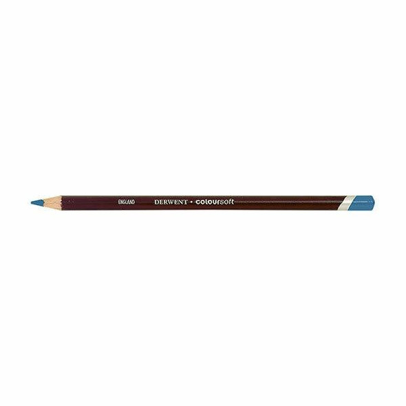DERWENT Coloursoft Pencil Iced Blue C350 X CARTON of 6 700987