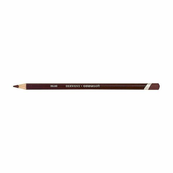 DERWENT Coloursoft Pencil Dark Terracotta C610 X CARTON of 6 701013