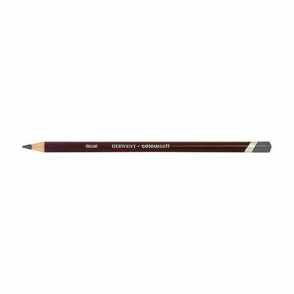 DERWENT Coloursoft Pencil Mid Grey C700 X CARTON of 6 701022