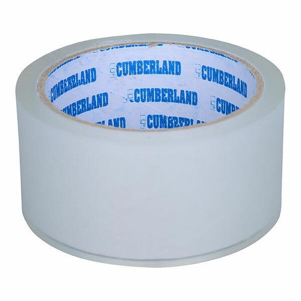 CUMBERLAND Packaging Tape 48mm X 50m Clear Box6 7164