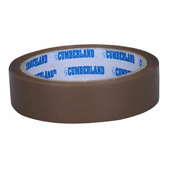 CUMBERLAND Packaging Tape 24mm X 50m Brown Box6 7180