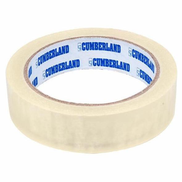 CUMBERLAND Easy Tear Tape 45mic 24mm X 66m Clear 7200