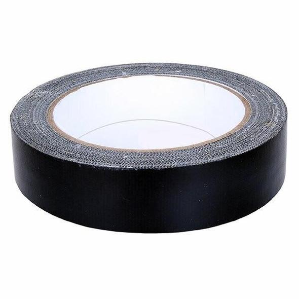 CUMBERLAND Cloth Tape 24mm X 25m Black 7223