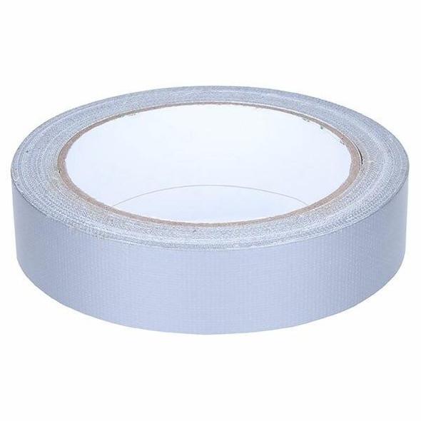 CUMBERLAND Cloth Tape 24mm X 25m Silver 7224