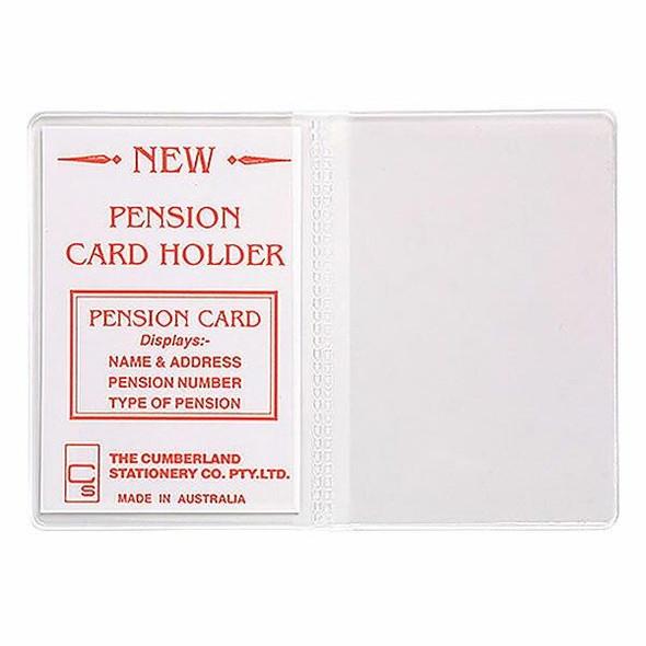 CUMBERLAND Card Holder Clear Pvc 723PCH