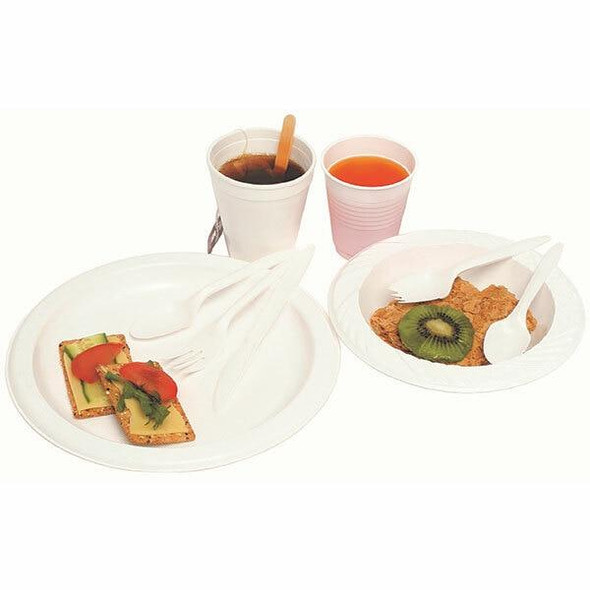 Marbig Disposable Bowl 180mm Pack 50 733030