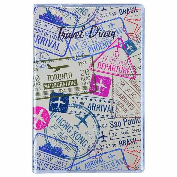 CUMBERLAND Travel Diary Pvc Passport 150 X 95mm 767077