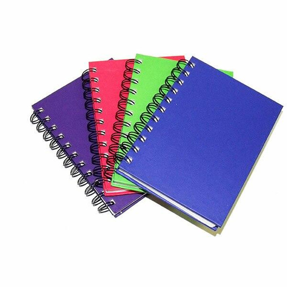 CUMBERLAND Bright Notebook A6 Ruled 200page Assorted X CARTON of 4 773527